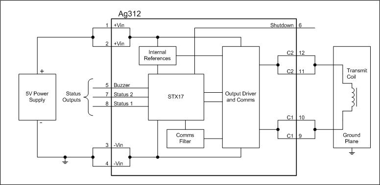 Ag312 Block Diagram